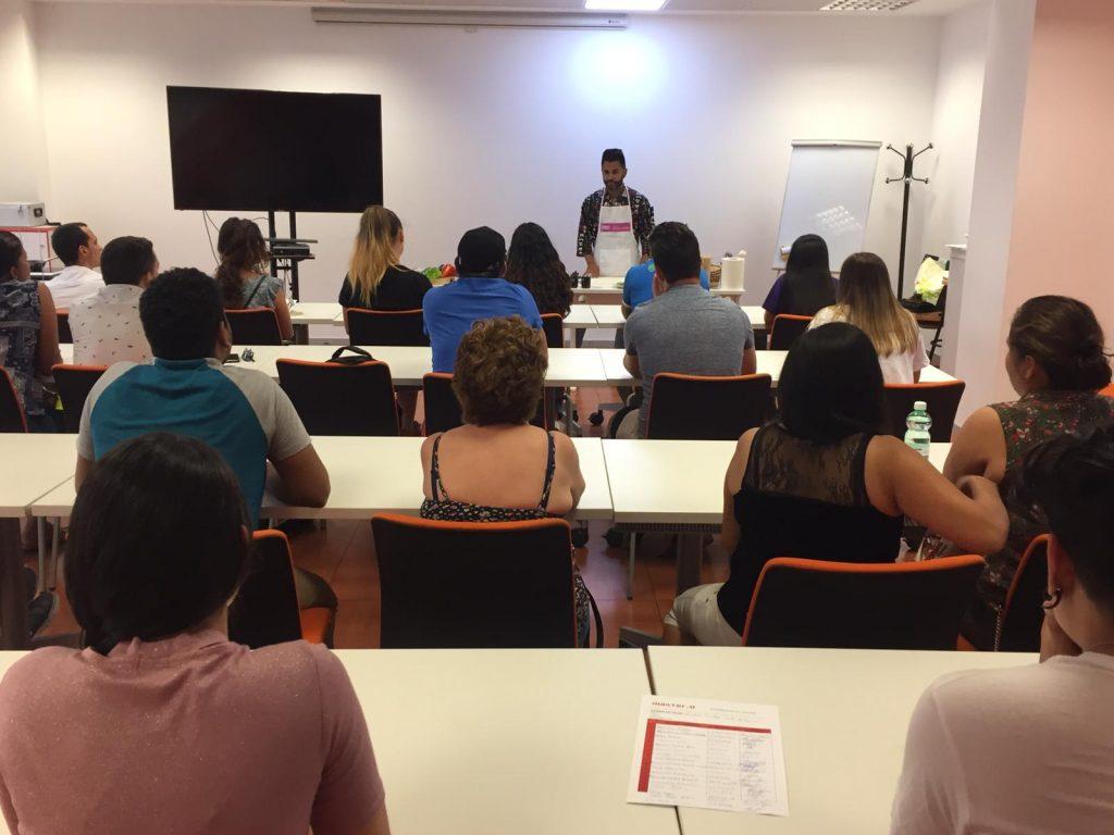 Clase de formación abierta en Hostelería y turismo